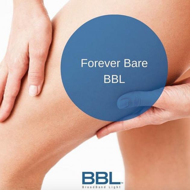 laser hair removal, Forever Bare BBL